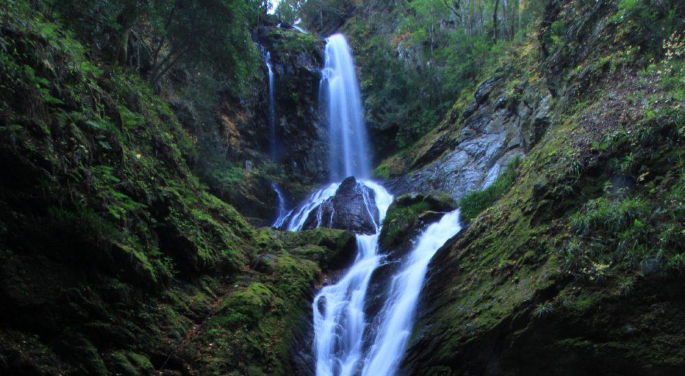雨乞いの滝の写真