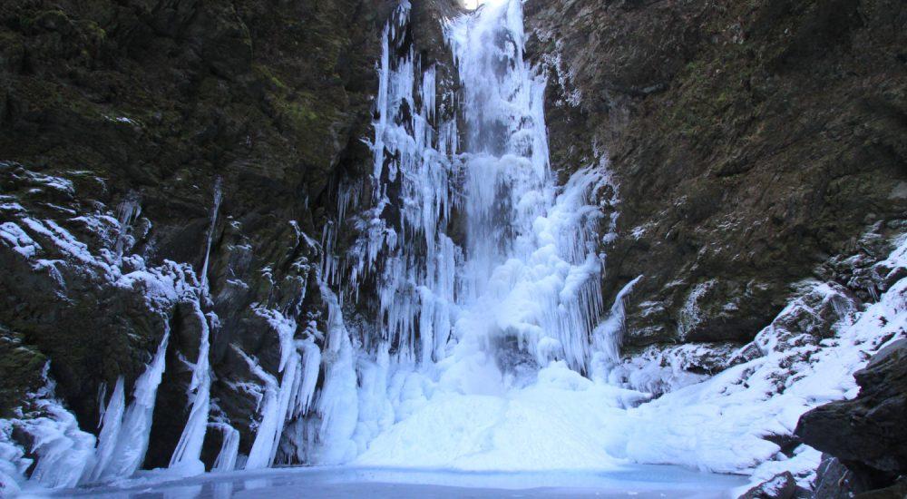 神通の滝の写真