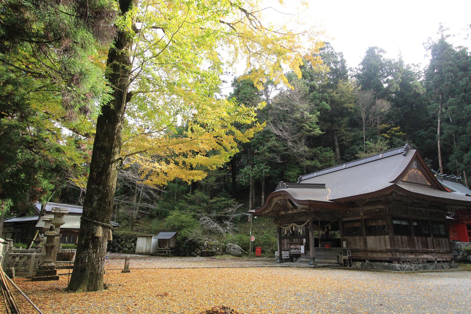 上一宮大粟神社の写真
